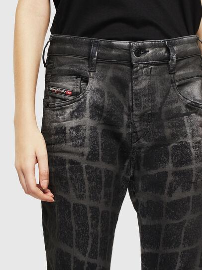 Diesel - Fayza JoggJeans 0094M, Black/Dark grey - Jeans - Image 3