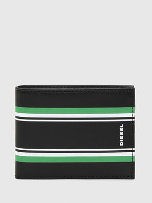 NEELA XS, Black/Green - Small Wallets