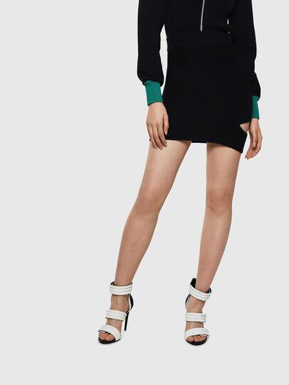 Diesel - M-SLAND, Black - Skirts - Image 1