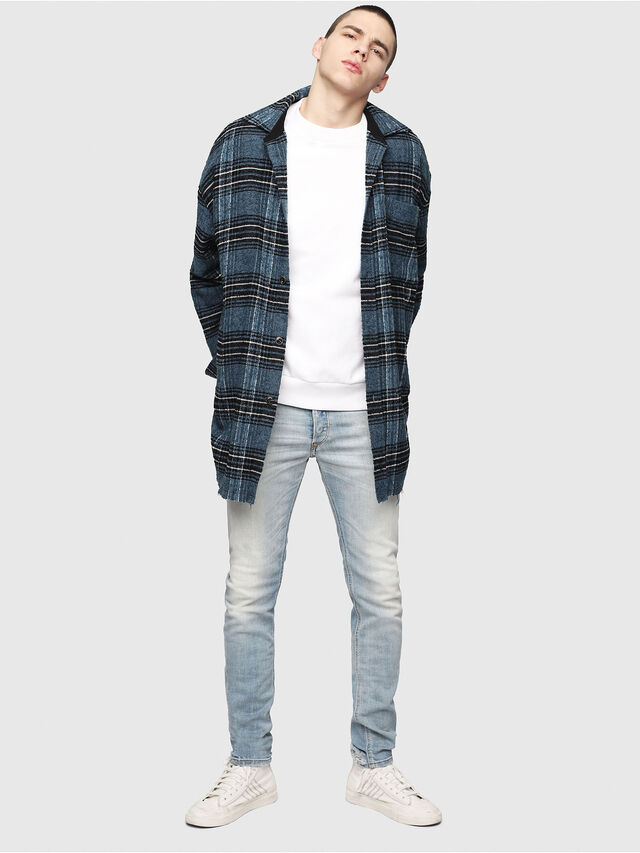 Diesel - Sleenker 081AJ, Light Blue - Jeans - Image 5