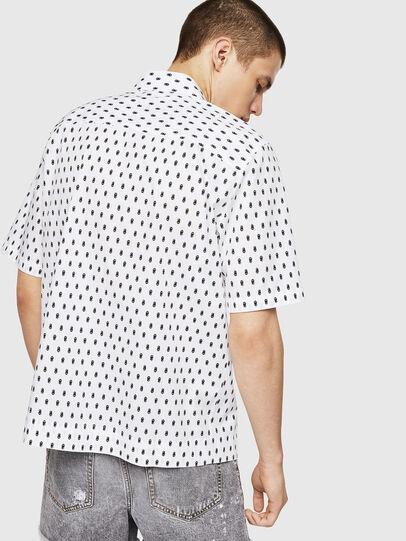 Diesel - S-FRY-SKULL, White - Shirts - Image 2