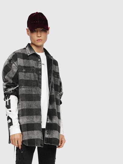 Diesel - T-JOE-LS-SN,  - T-Shirts - Image 3