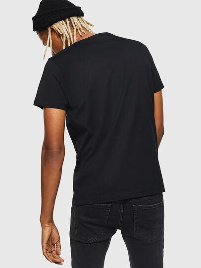 Diesel - T-DIEGO-J25, Black - T-Shirts - Image 2