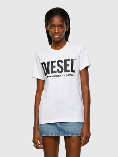 Diesel - T-SILY-ECOLOGO, White - T-Shirts - Image 1