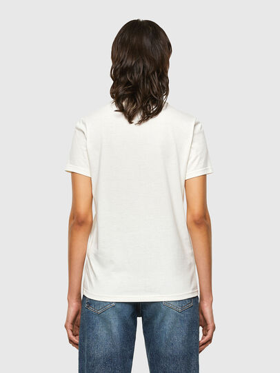 Diesel - T-SILY-V32, White - T-Shirts - Image 2