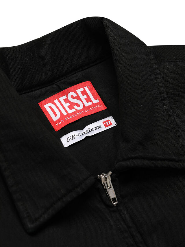 Diesel - GR02-J301, Black - Denim Jackets - Image 3