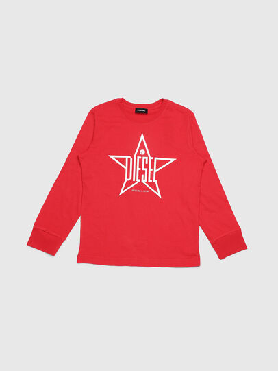 Diesel - TDIEGOYH-ML, Red - T-shirts and Tops - Image 1