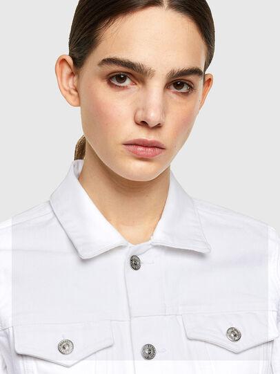 Diesel - DE-LIMMY, White - Denim Jackets - Image 4