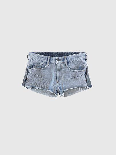 Diesel - DE-RIMY, Light Blue - Shorts - Image 1