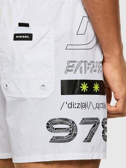 Diesel - BMBX-WAVE 2.017, White - Swim shorts - Image 3