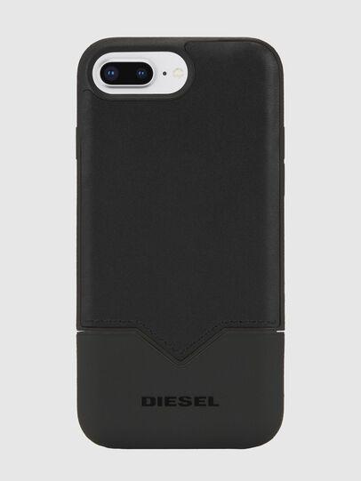 Diesel - CREDIT CARD IPHONE 8 PLUS/7 PLUS/6S PLUS/6 PLUS CASE, Black - Cases - Image 1