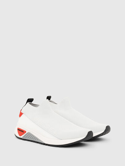 Diesel - S-KB SOCK QB, White/Grey - Sneakers - Image 2