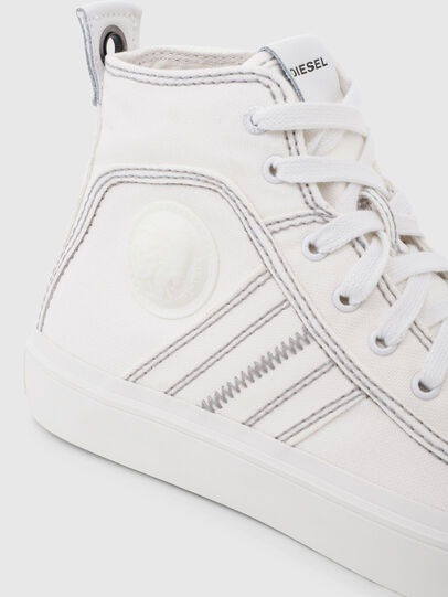 Diesel - S-ASTICO MID LACE W, White - Sneakers - Image 4