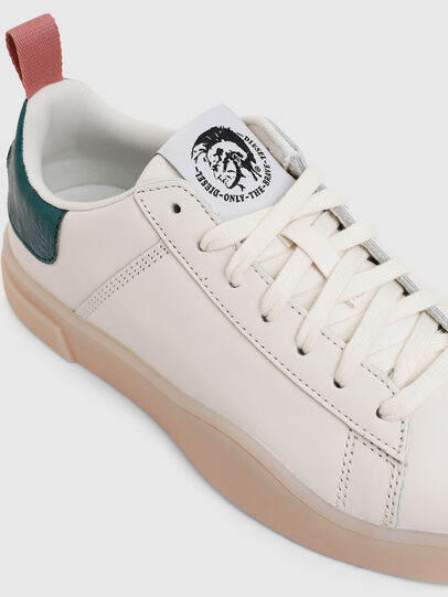 Diesel - S-CLEVER LOW LACE W, White/Green - Sneakers - Image 4