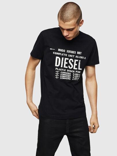 Diesel - T-DIEGO-B6, Black - T-Shirts - Image 1