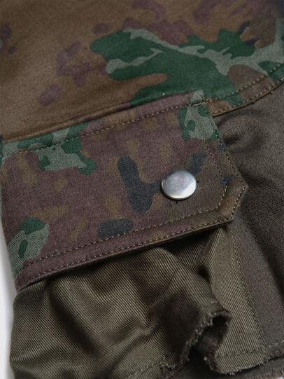 Diesel - GAMATA, Green Camouflage - Skirts - Image 3
