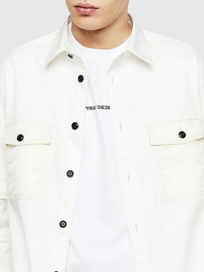 Diesel - S-KOSOV, White - Shirts - Image 3