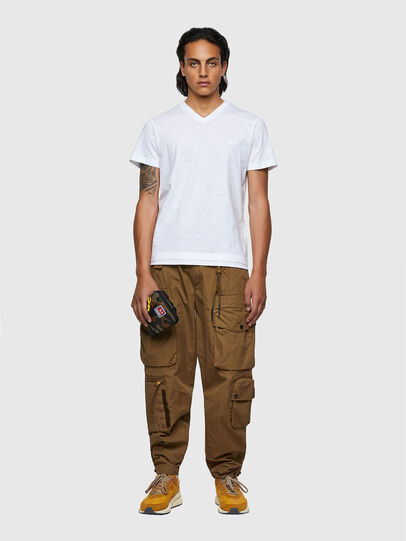 Diesel - T-NORRIE, White - T-Shirts - Image 4