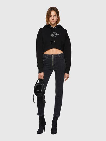 Diesel - F-KRAL, Black - Sweaters - Image 4