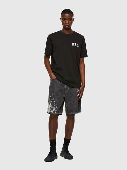 Diesel - T-JUST-E10, Black - T-Shirts - Image 4