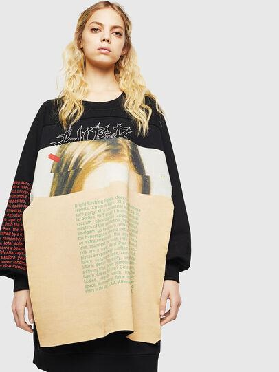 Diesel - F-EYET-A, Black - Sweaters - Image 1
