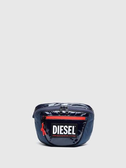 Diesel - LOKI PAT, Blue - Crossbody Bags - Image 1