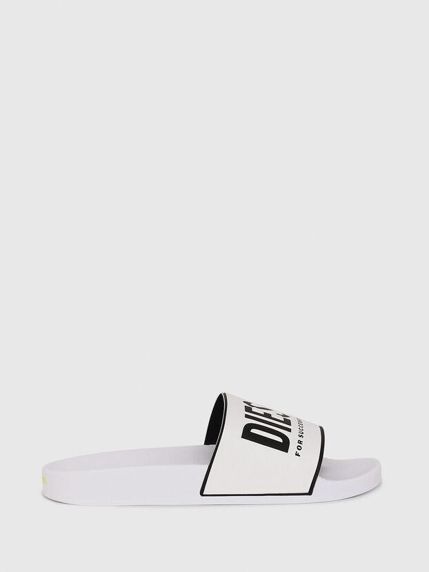 SA-VALLA W, White/Black - Slippers