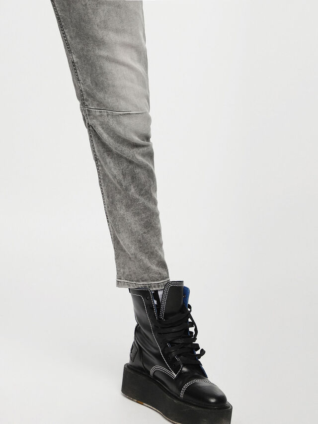 Diesel Fayza JoggJeans 0855B, Light Grey - Jeans - Image 5