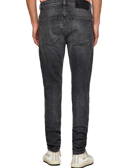 Diesel - D-Amny 09A18, Black/Dark grey - Jeans - Image 2