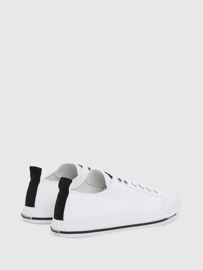 Diesel - S-ASTICO LOW CUT W, White - Sneakers - Image 3