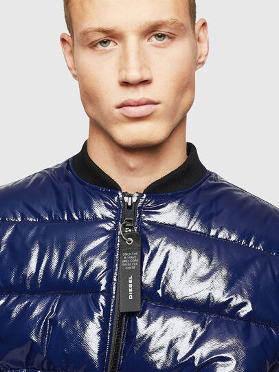 Diesel - W-ON, Blue - Winter Jackets - Image 3