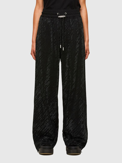 Diesel - P-STRASS-F, Black - Pants - Image 1