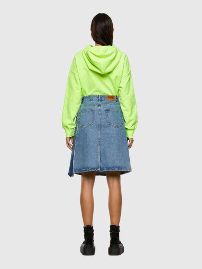 Diesel - DE-TOBY, Light Blue - Skirts - Image 6