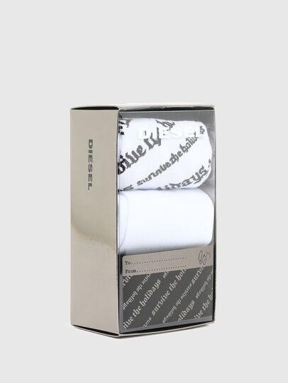 Diesel - SKM-HERMINE-THREEPAC, White/Black - Socks - Image 2