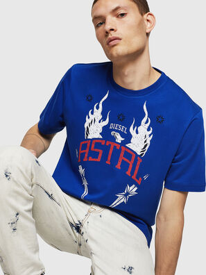 T-JUST-A5, Brilliant Blue - T-Shirts