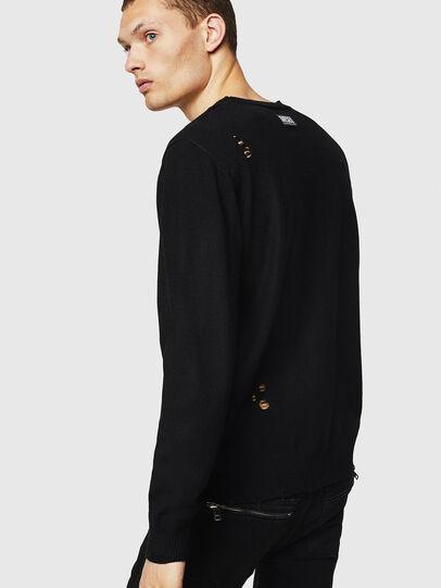 Diesel - K-PLUG, Black - Knitwear - Image 2