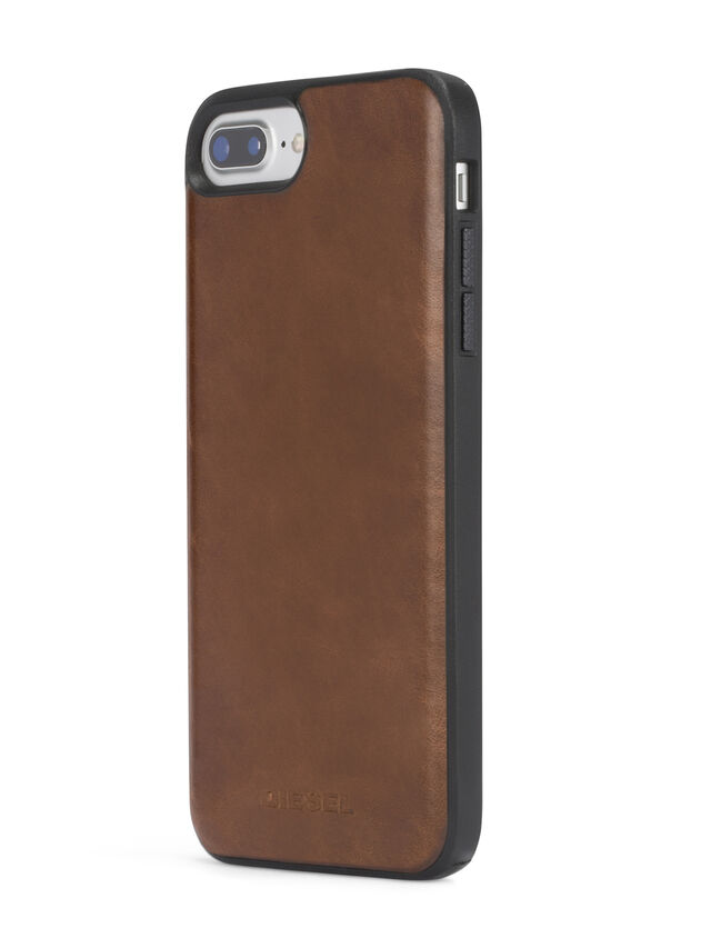BROWN LEATHER IPHONE 8 PLUS/7 PLUS/6s PLUS/6 PLUS CASE, Brown