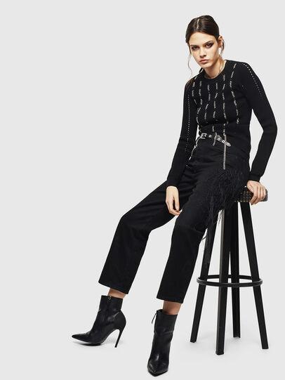Diesel - M-LYV, Black - Knitwear - Image 6