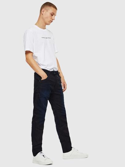 Diesel - Krooley JoggJeans 069IM, Dark Blue - Jeans - Image 4