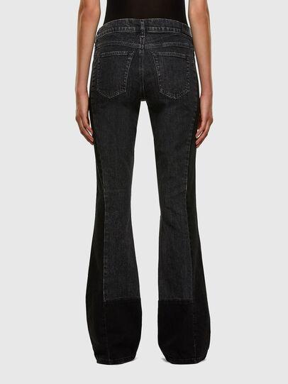 Diesel - D-Ebbey 009IM, Black/Dark grey - Jeans - Image 2