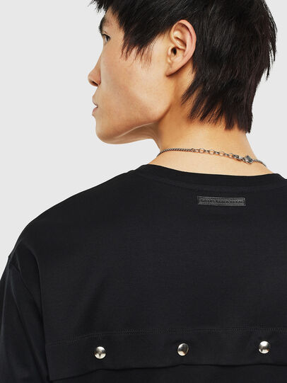 Diesel - T-TIGE, Black - T-Shirts - Image 5