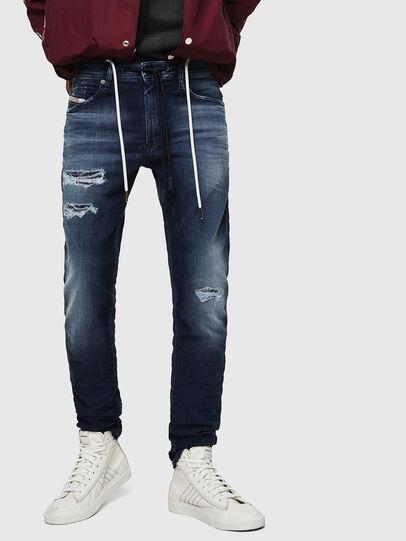 Diesel - Thommer JoggJeans 069JF, Dark Blue - Jeans - Image 1