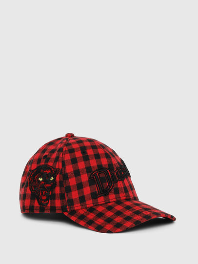 Diesel - CICHECK, Red/Black - Caps - Image 1