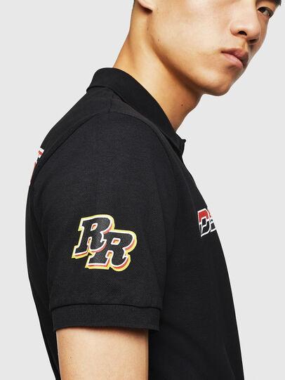 Diesel - ASTARS-T-NIGHT-NEW, Black - T-Shirts - Image 5