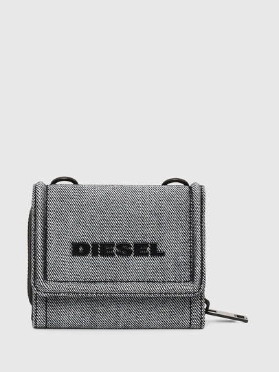 Diesel - LORY, Grey - Small Wallets - Image 1