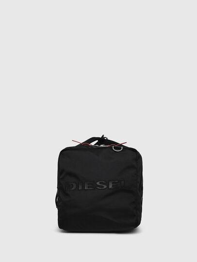 Diesel - M-CAGE DUFFLE M, Black - Travel Bags - Image 2