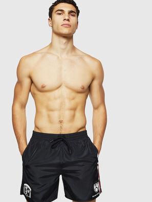 BMBX-WAVENEW, Black - Swim shorts