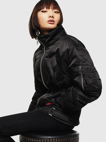 Diesel - CL-W-ISOKE-A-LITM, Black - Winter Jackets - Image 7