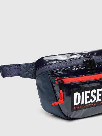 Diesel - LOKI PAT, Blue - Crossbody Bags - Image 4
