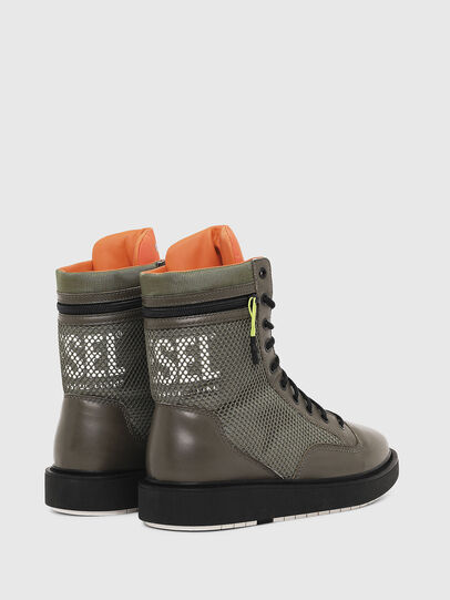 Diesel - H-CAGE DBZ, Olive Green - Boots - Image 3